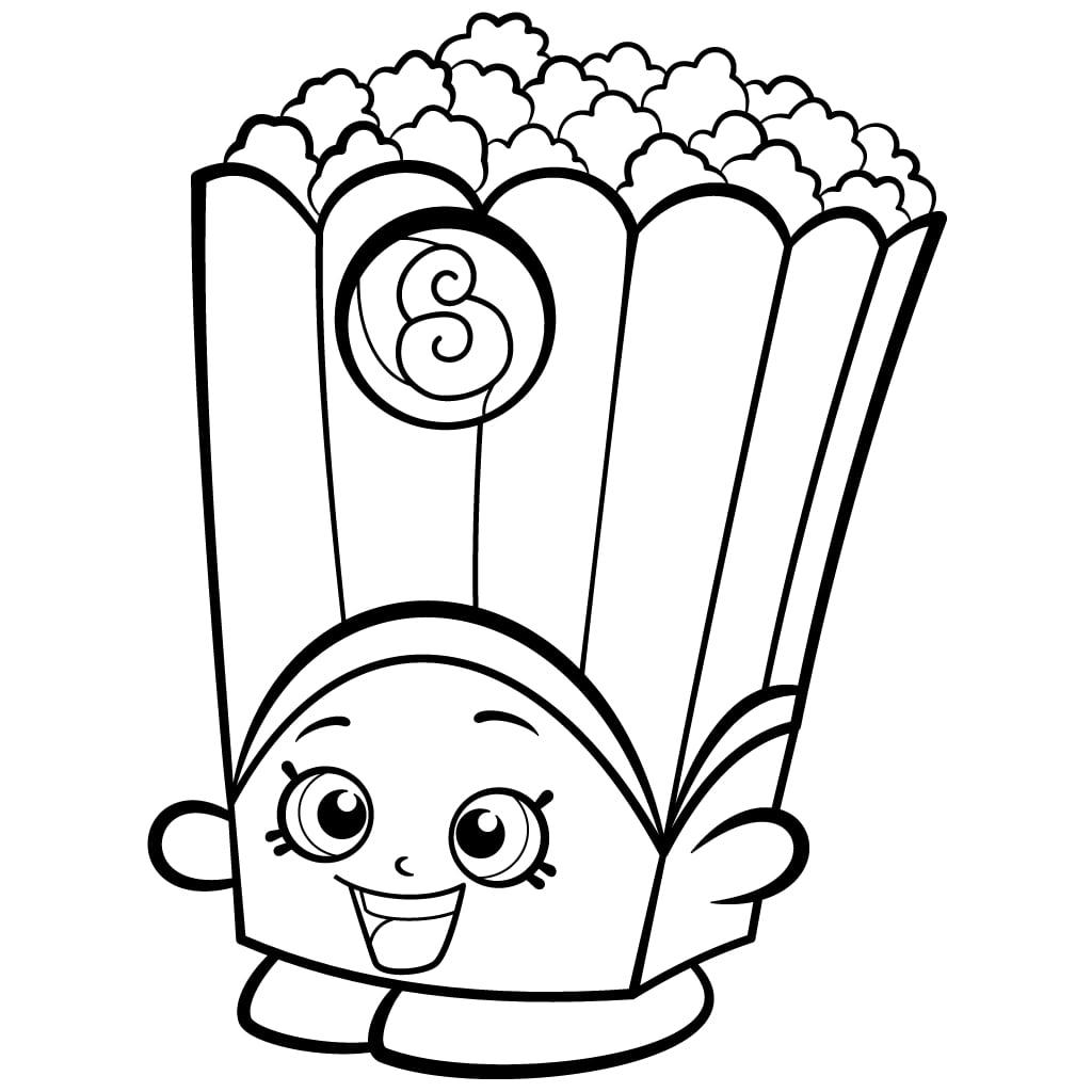 Popcorn Box Poppy Shopkins