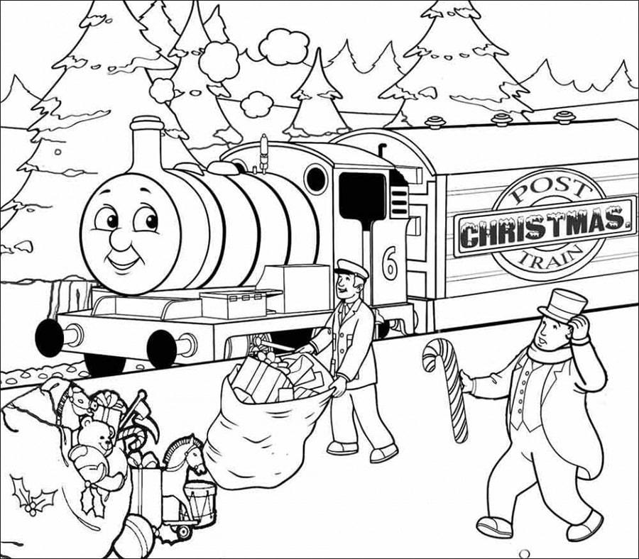 Post Christmas Train