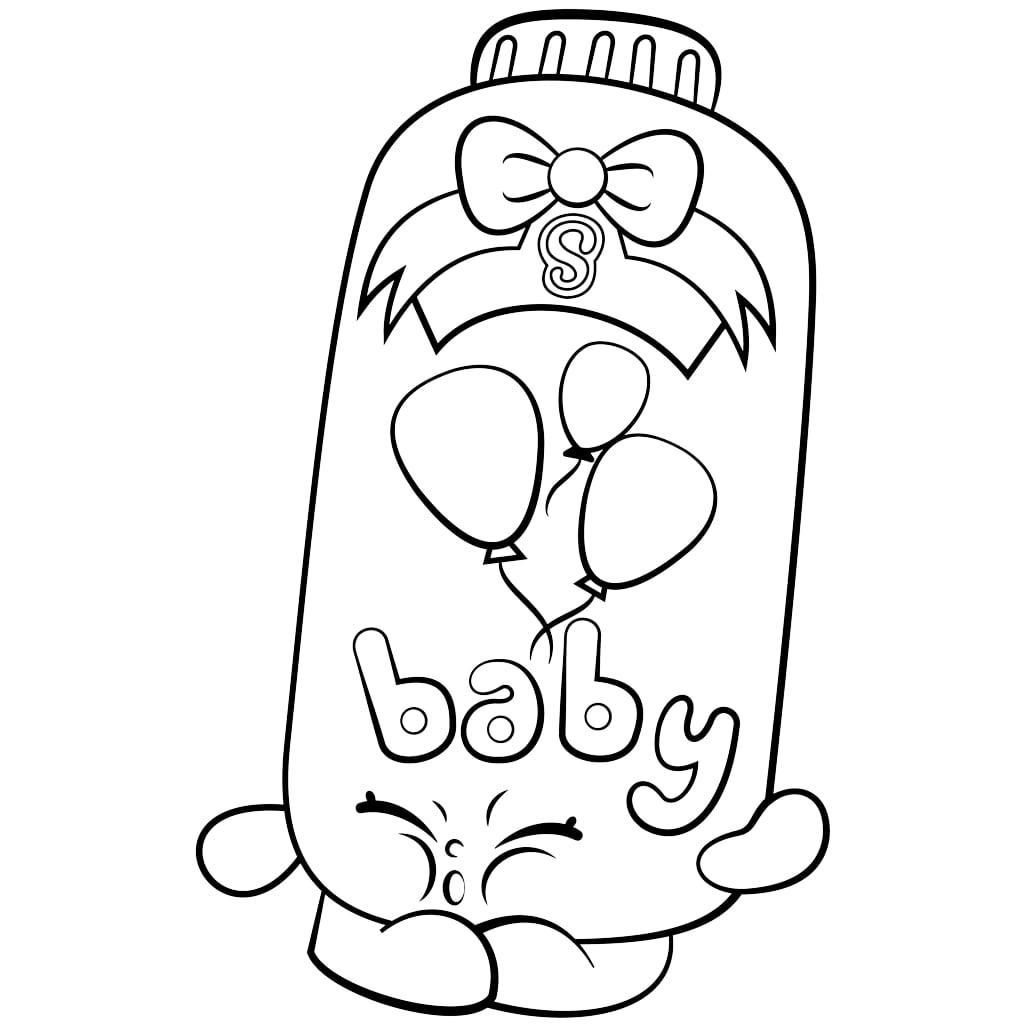 Powder Baby Puff Shopkins