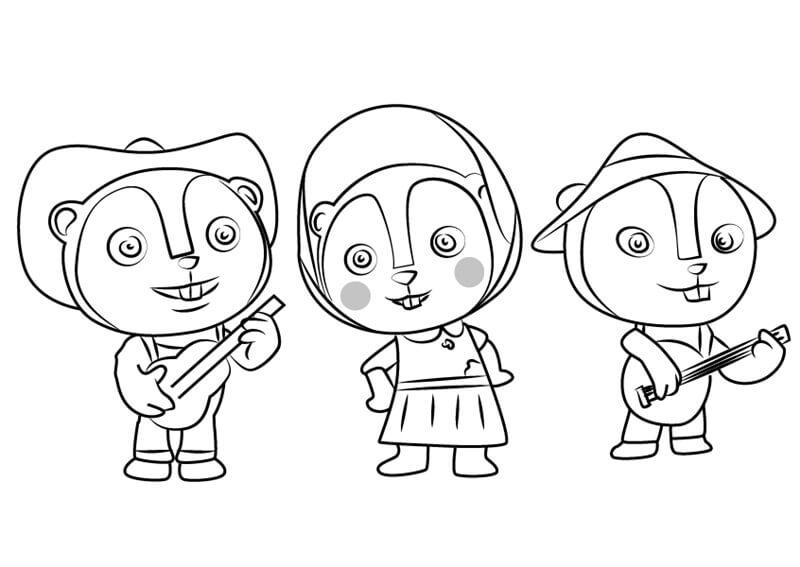 Prairie Dog Trio