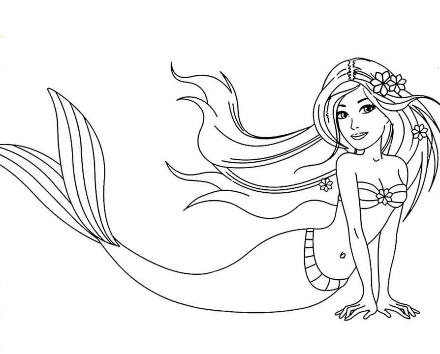 Pretty Barbie Mermaid