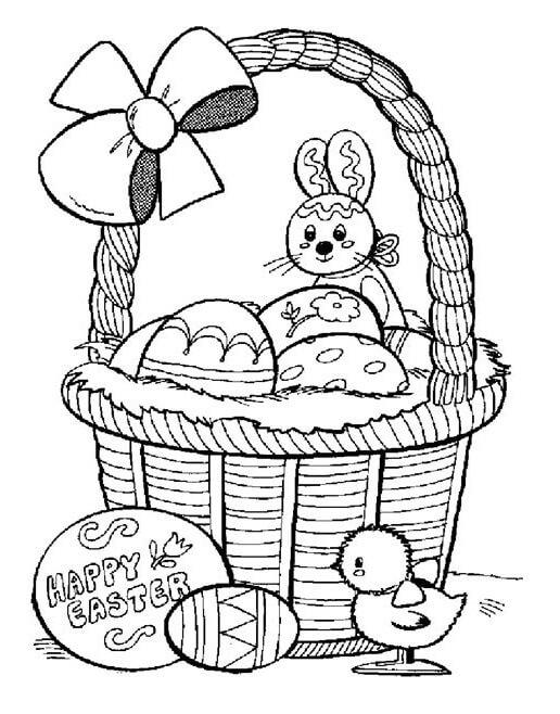 Pretty Easter Basket
