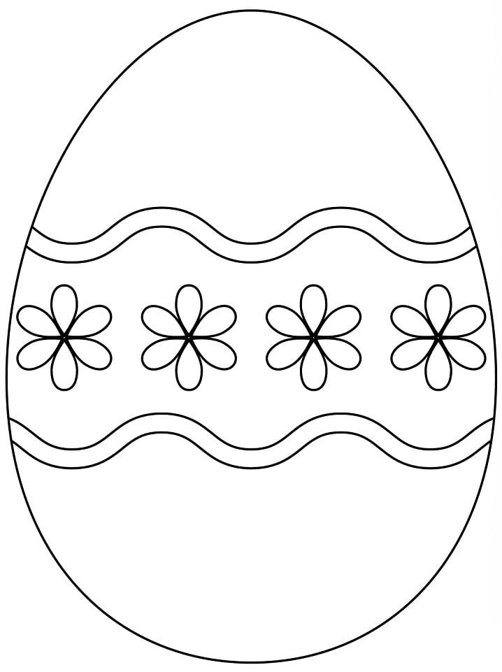 Pretty Easter Egg 1