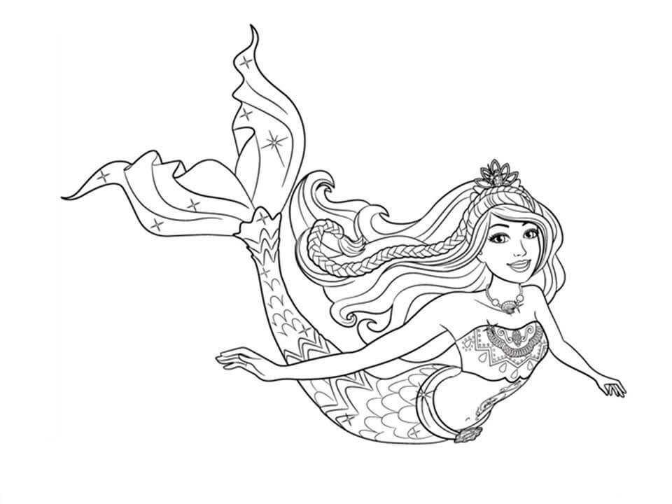 Princess Barbie Mermaid