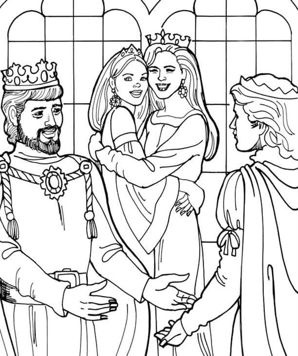 Princess Leonora Family