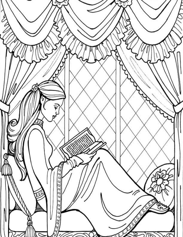 Princess Leonora Reading
