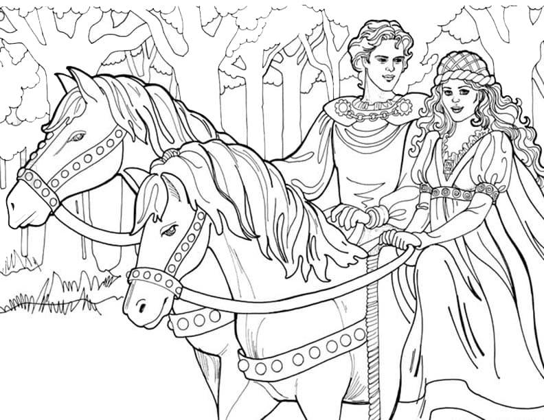 Princess Leonora Riding Horse