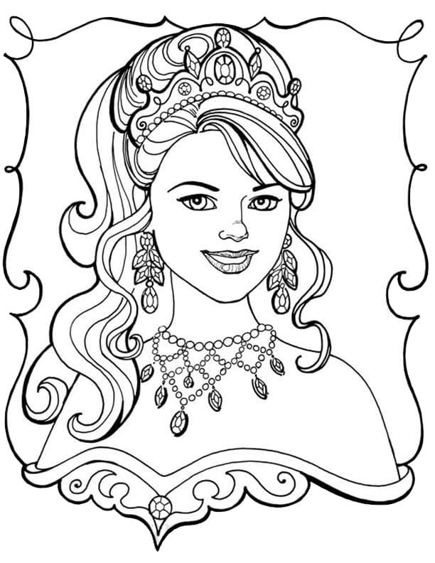 Princess Leonora Smiling