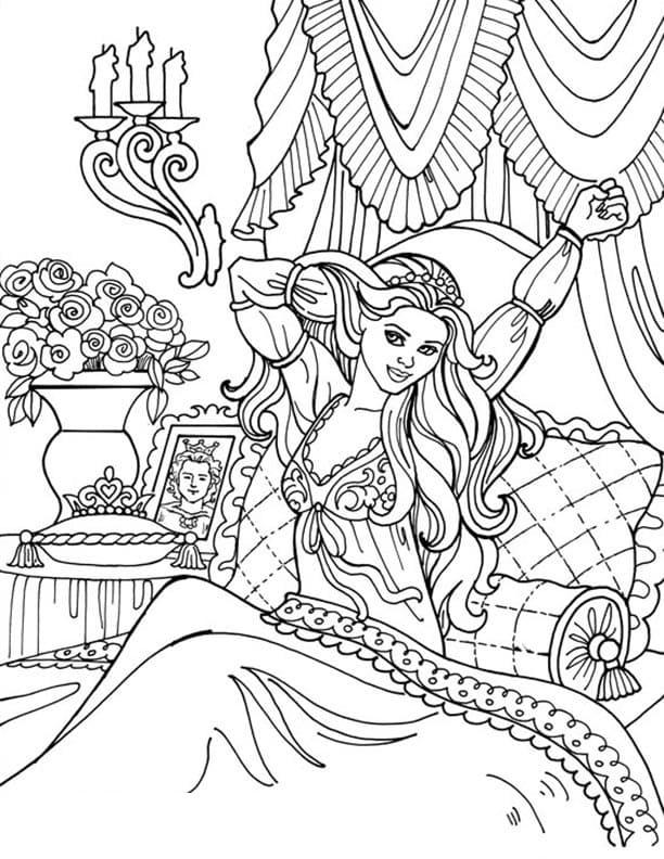 Princess Leonora Wakes Up