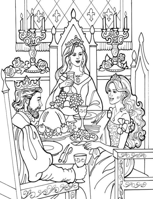 Princess Leonora in Meal