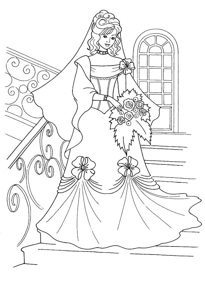 Princess in a Wedding Dress