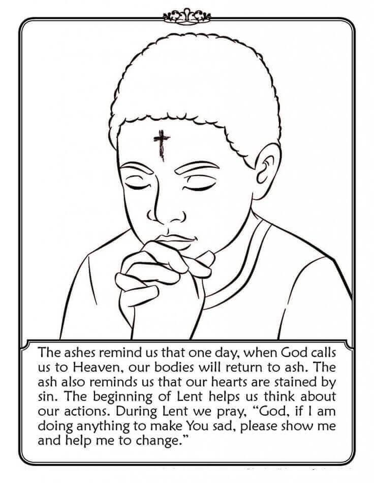 Printable Ash Wednesday