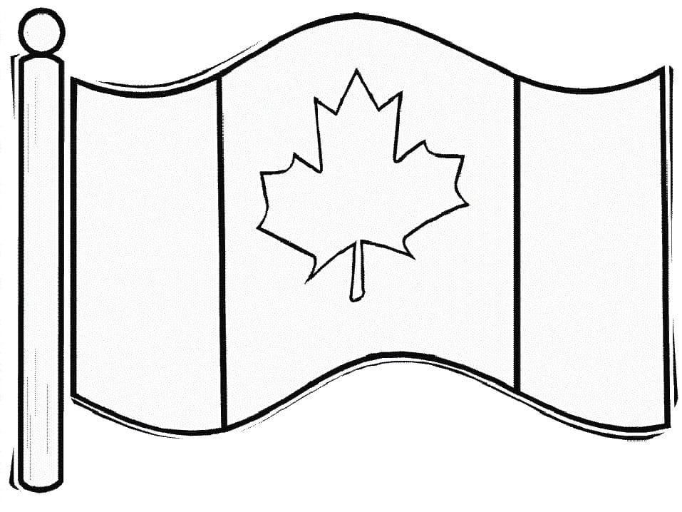 Printable Canada Flag