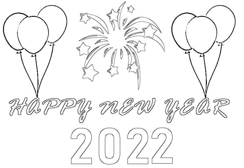 Printable New Year 2022