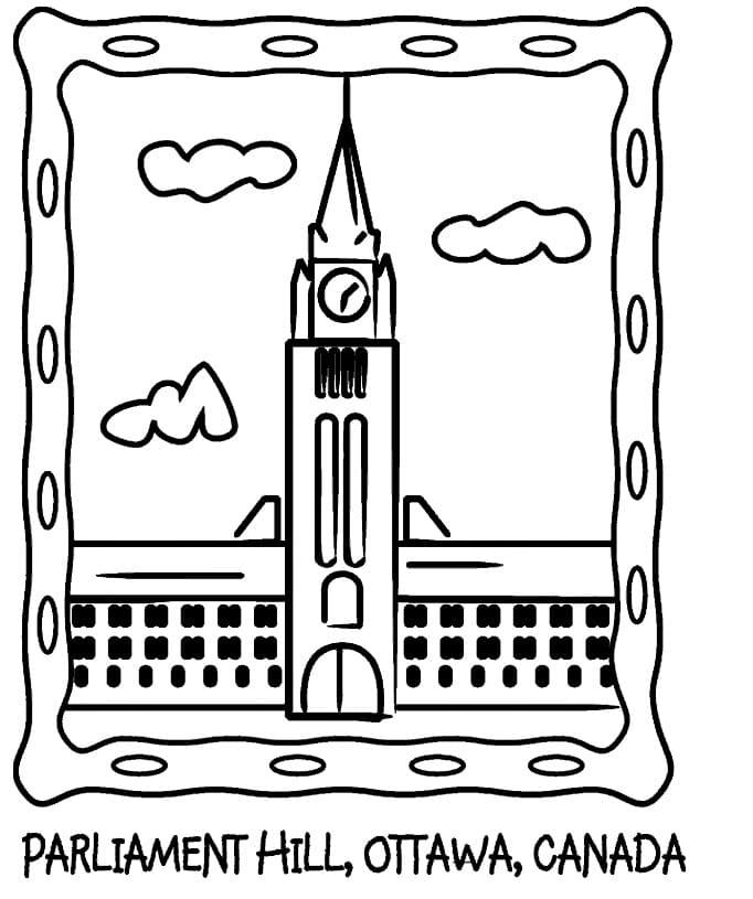 Printable Parliament Hill