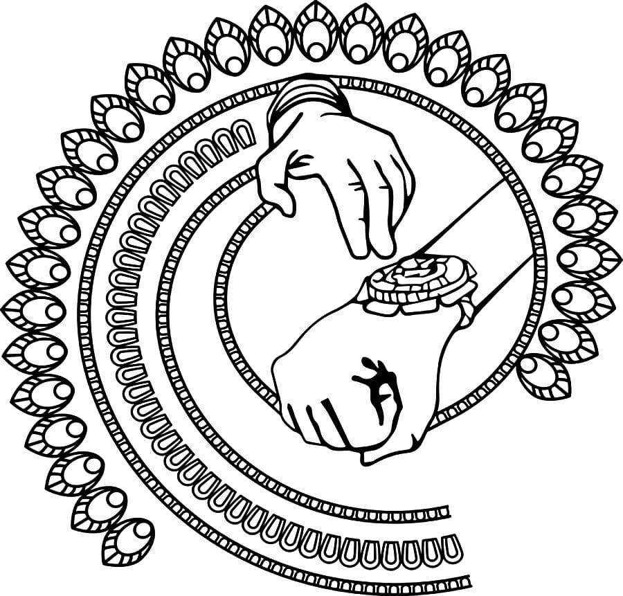 Printable Rakhi