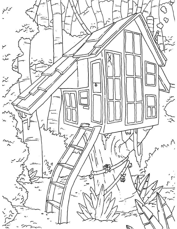 Printable Treehouse