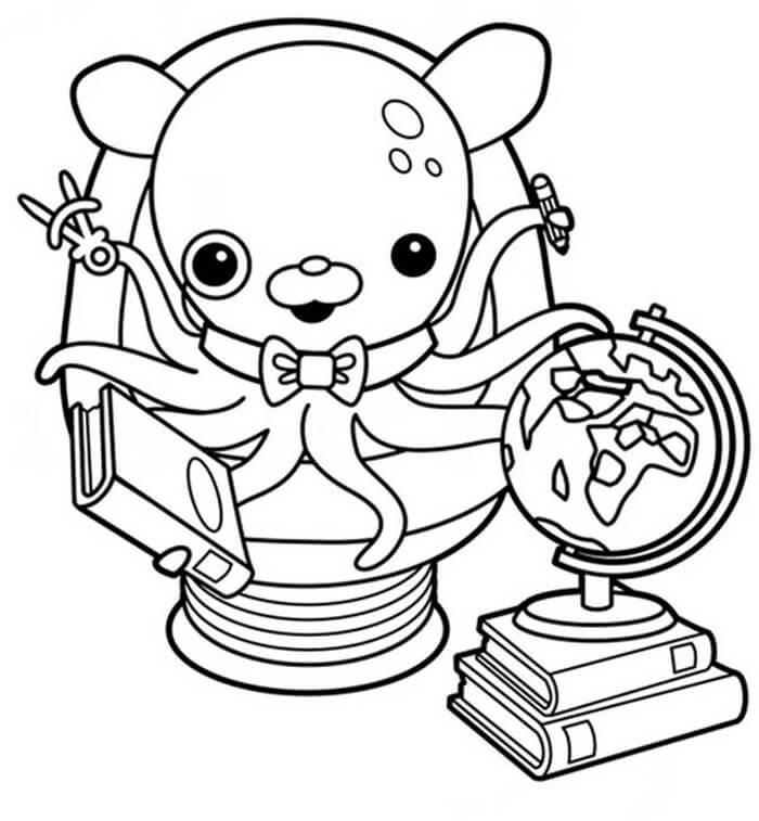 Professor Inkling Octonauts