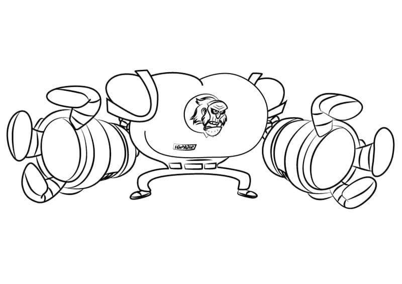 Professor Tite-Gripp from Atomic Puppet
