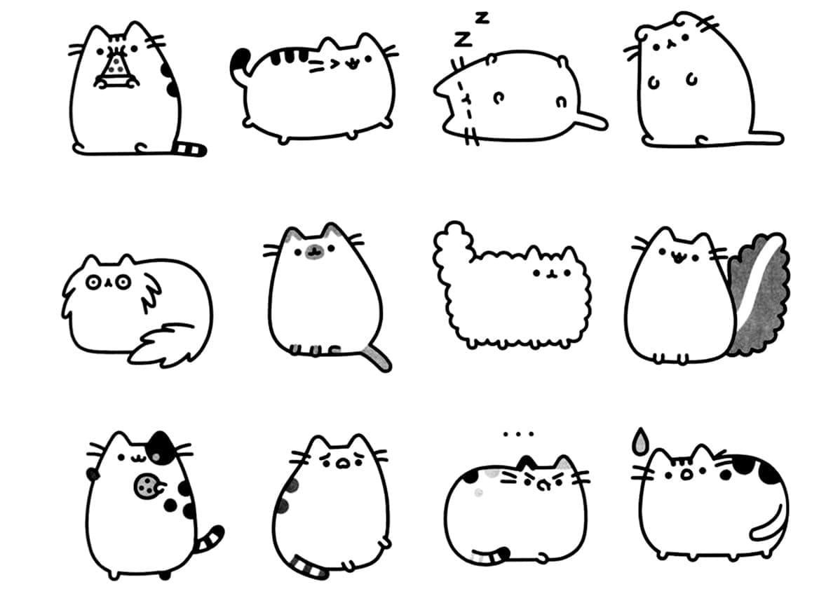 Pusheen Cats 1