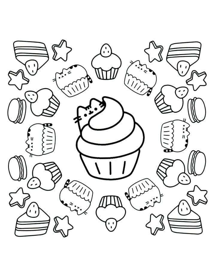 Pusheen Cupcakes