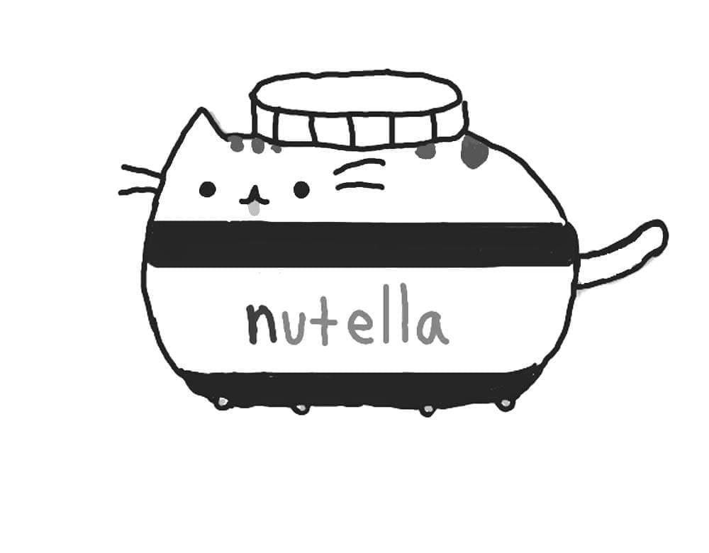 Pusheen Nutella