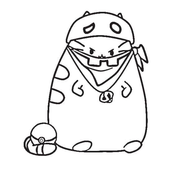 Pusheen Pokemon