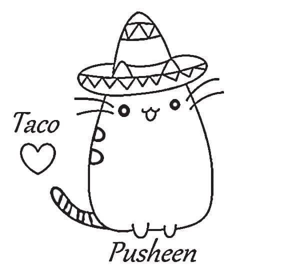 Pusheen Taco
