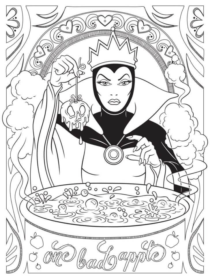 Queen Grimhilde Disney Villain