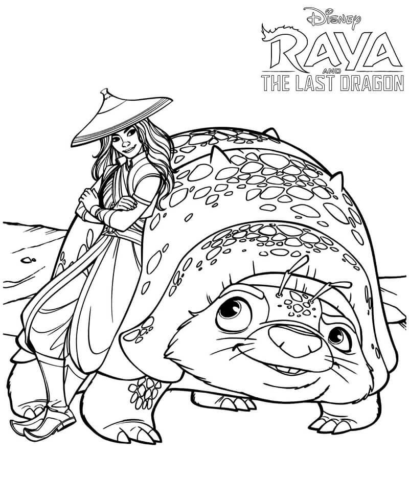 Raya and Tuk Tuk