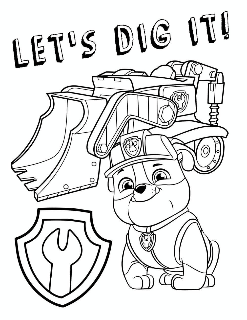Rubble - Let's Dig It