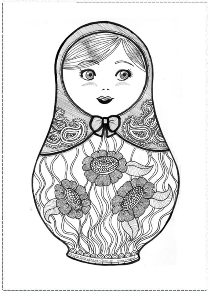Russian Doll Matryoshka 10