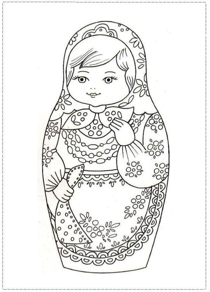 Russian Doll Matryoshka 11