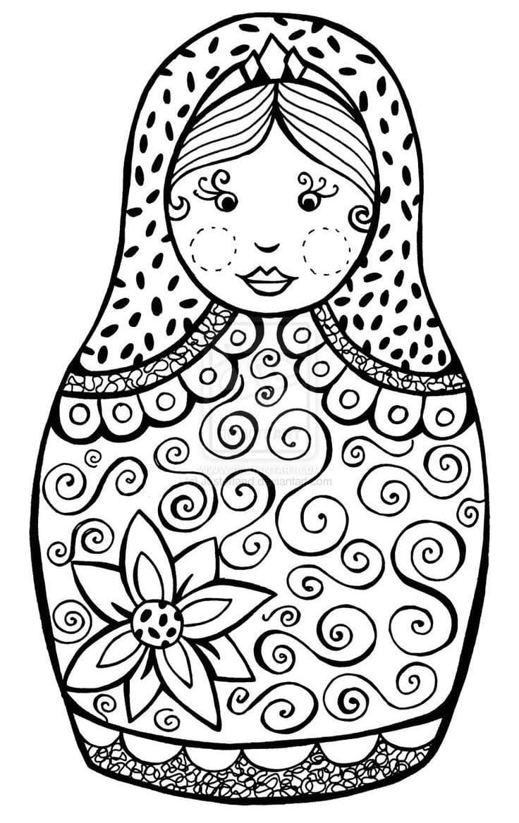 Russian Doll Matryoshka 12