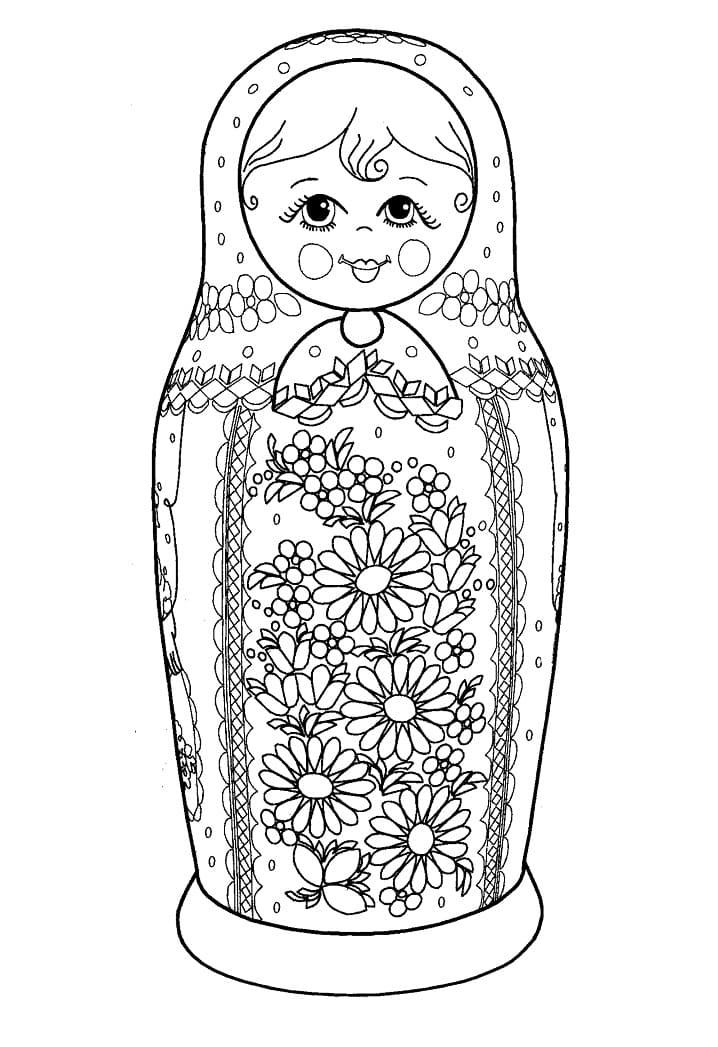 Russian Doll Matryoshka 15