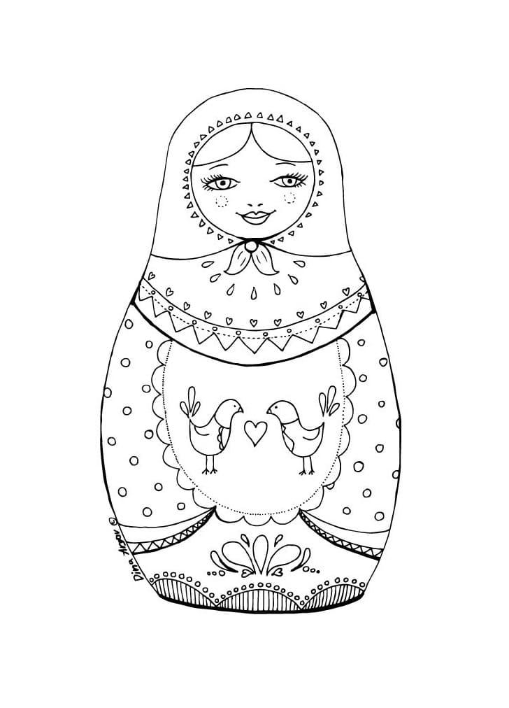 Russian Doll Matryoshka 3