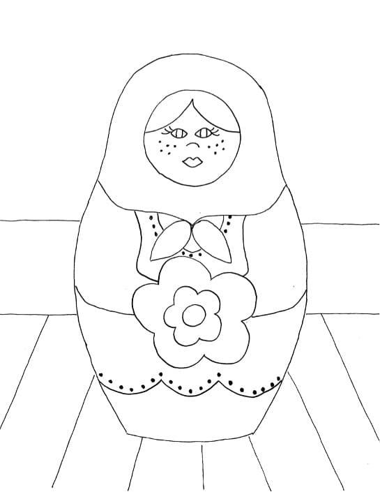 Russian Doll Matryoshka 4
