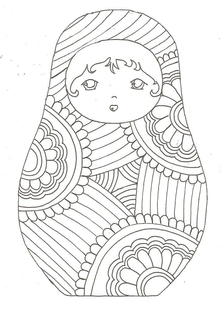Russian Doll Matryoshka 6