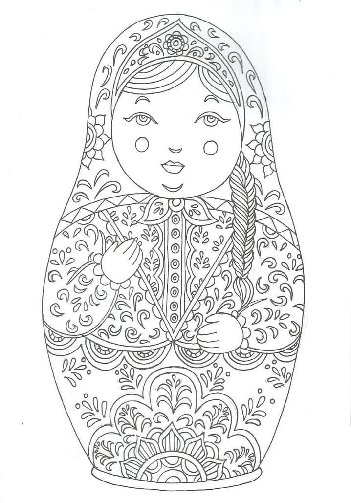 Russian Doll Matryoshka 7