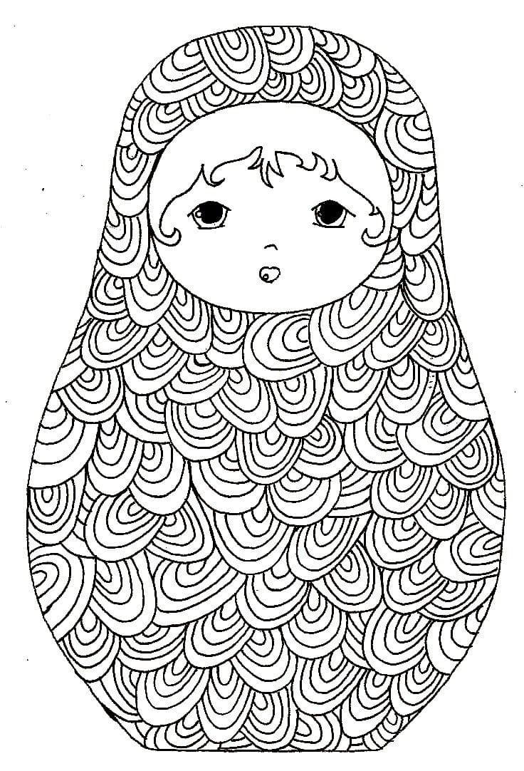 Russian Doll Matryoshka 8