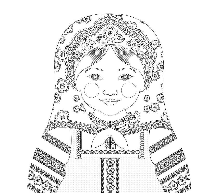 Russian Doll Matryoshka 9