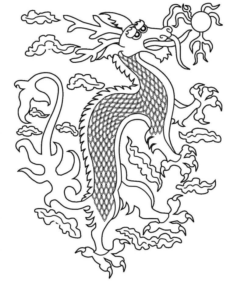 Sad Chinese Dragon