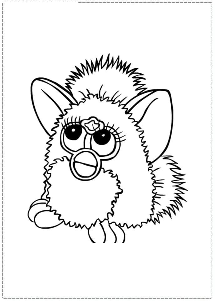 Sad Furby