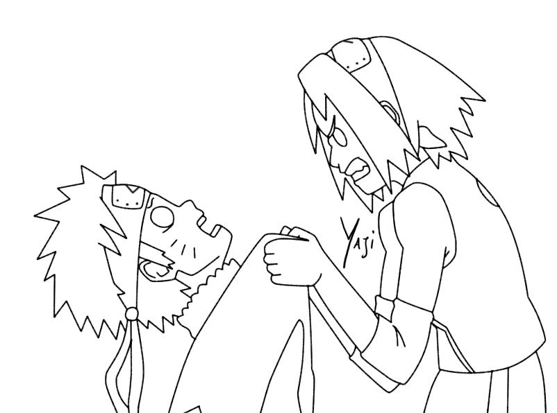 Sakura Haruno Angry with Naruto
