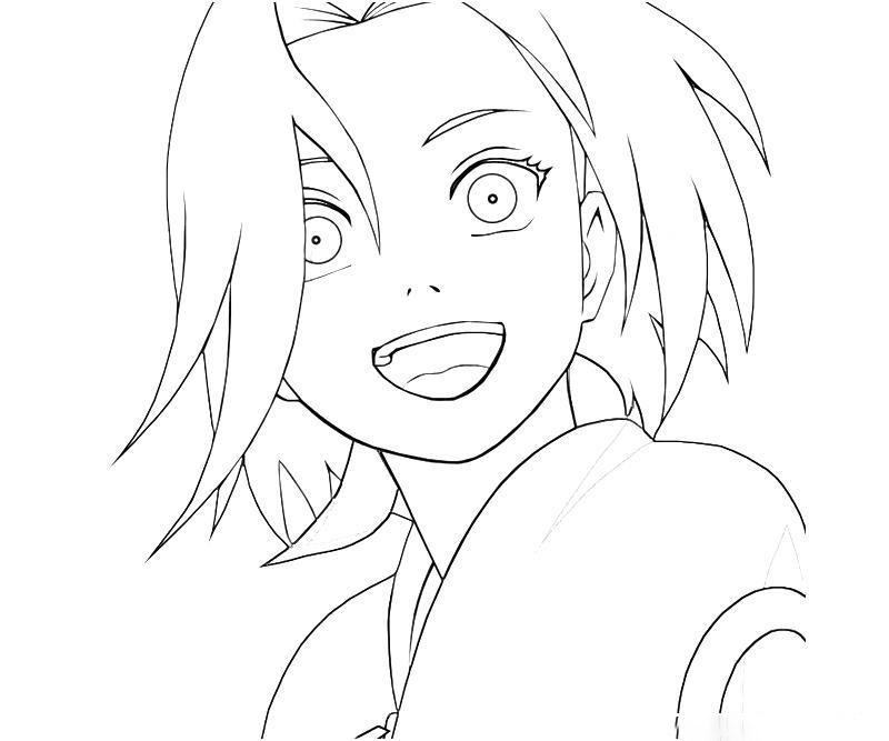 Sakura Haruno Smilling