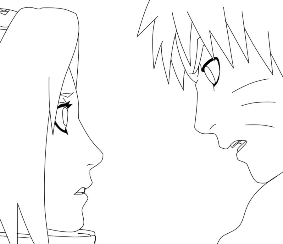 Sakura Haruno and Naruto in Love