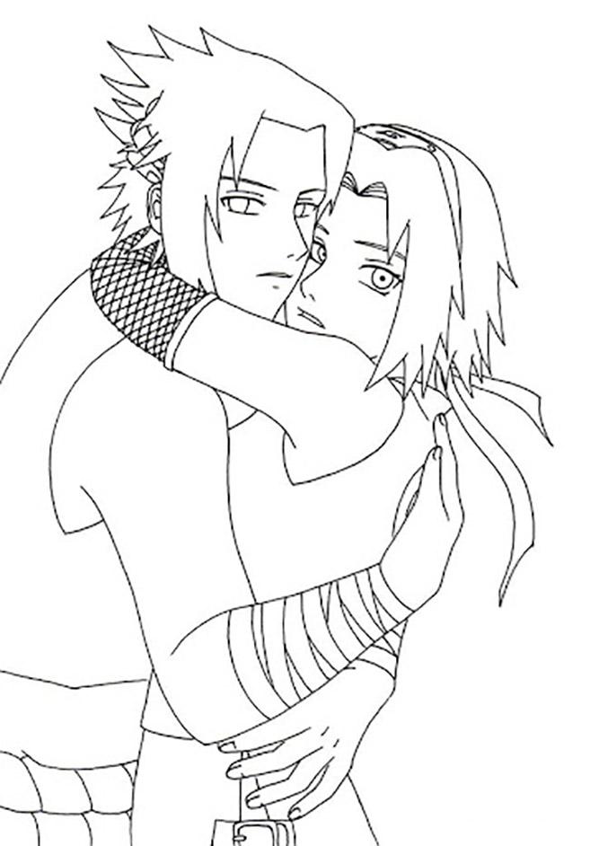 Sakura Haruno with Hug