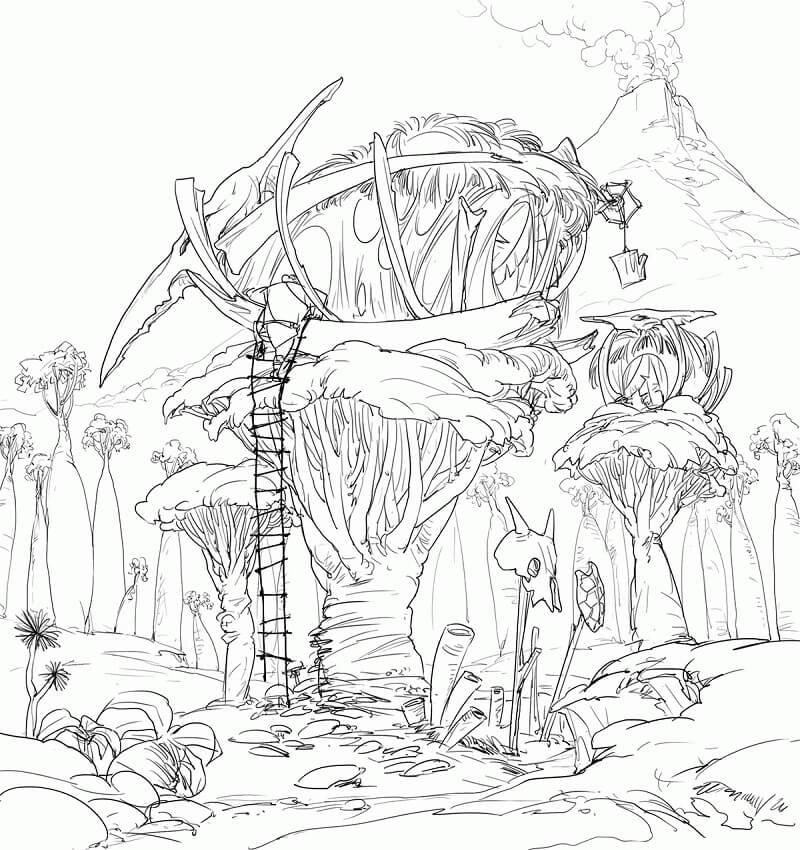 Scary Treehouse