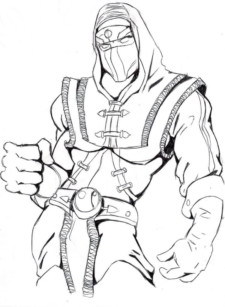 Scorpion Mortal Kombat 1