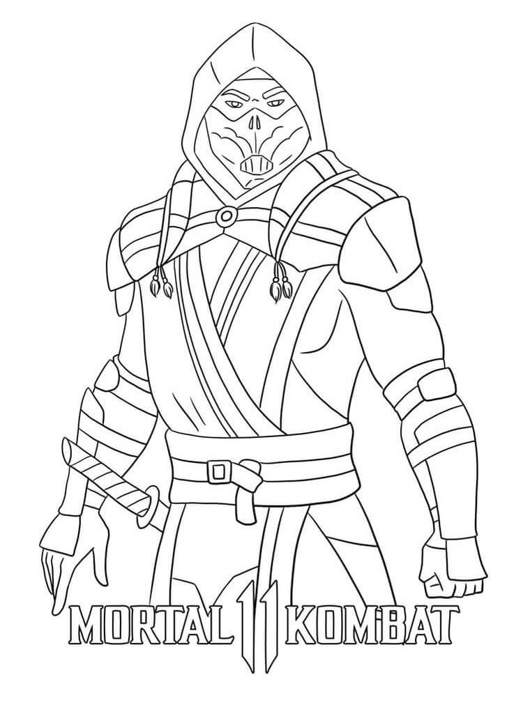 Scorpion Mortal Kombat 2